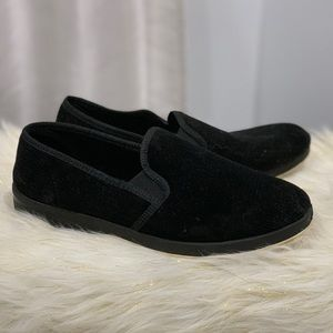 Foamtreads black loafers size 10